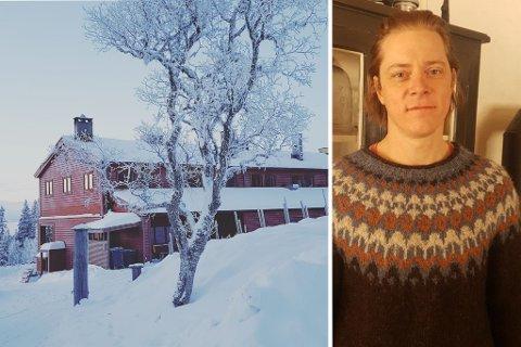 Avdelingsleder Thomas Wahlqvist ved Skistua i Bymarka åpner for kioskutsalg førstkommende lørdag.