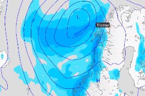Skjermdump: Meteorologene på Twitter