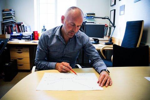 """Psykologspesialist Svein Øverland vil forske på effekten av behandlingsprogrammet """"Proteus""""."""