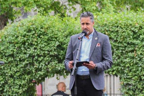 Kulturminister Abid Raja sto for åpningen av Olavsfestdagene 2020