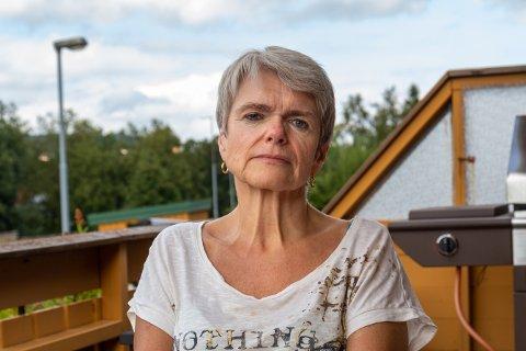 Torill Kvaløsæter er styreleder i Munkvollhaugen borettslag. Den siste tiden har de vært utsatt for flere frekke tyverier.