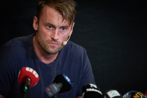 BEKREFTET: Petter Northug bekreftet under pressekonferansen at han ble tatt med 10 gram kokain.