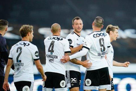 Rosenborg herjet med Ventspils i det som til slutt ble en ren overkjøring. Bildet er tatt ved en tidligere anledning.