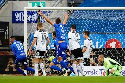 Kristoffer Velde satte inn 1-0 til Haugesund tidlig i første omgang.
