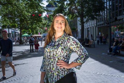 FERDIG: Tine Eikevik ville fortsette som leder i lokallaget, men flertallet på årsmøtet kastet henne.