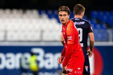 Marcus Mehnert går fra Brann til Ranheim på en treårskontrakt.