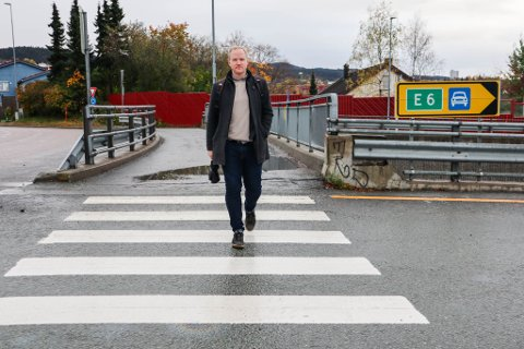 Haakon Aasprong (42) reagerer på farlige forhold i Nardokrysset og mener det bare er et spørsmål om tid før det går galt.