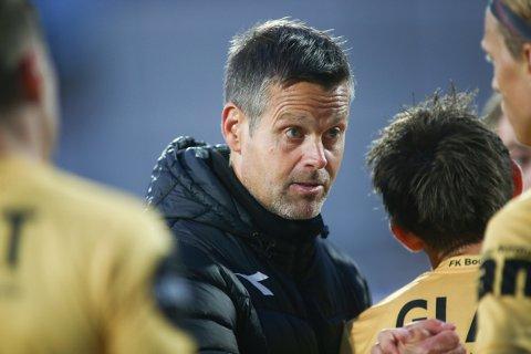 HET: Bodø/Glimts trener Kjetil Knutsen.