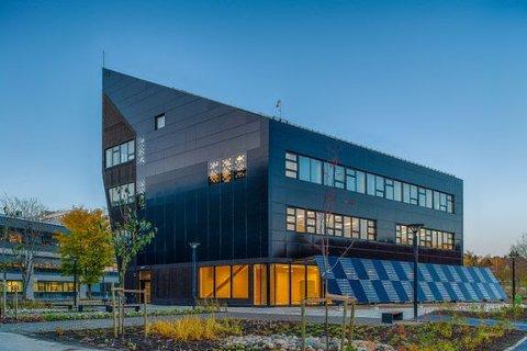 Det nye laboratoriet ligger på Gløshaugen i Trondheim. Foto: Matthias C. Herzog