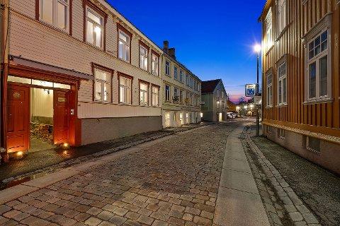 Bygården på Bakklandet har noe uten om det vanlige i bakgården.