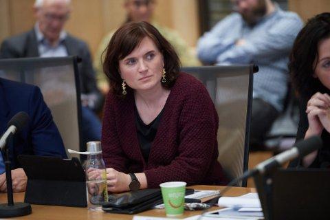 Hanne Moe Bjørnbet, leder i Trondheim Ap, ledet et ekstraordinært styremøte etter rapporten som omhandler AUFs vervepraksis onsdag.
