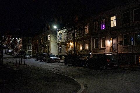 Nidaros fotograf forteller også at det var rolig både på Møllenberg og i resten av byen natt til lørdag