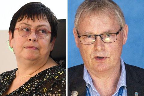 Ordfører Rita Ottervik og kommunedirektør Morten Wolden har kommet med en uttalelse til vaksinestrategien.