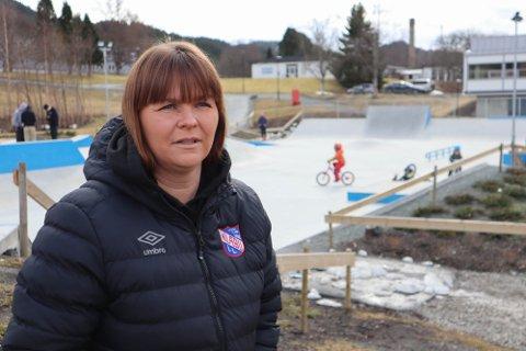 Kate Tømmervold er daglig leder i Klæbu idrettslag.