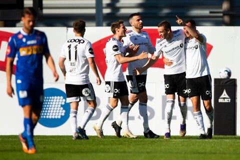Even Hovland sendte Rosenborg i ledelsen.