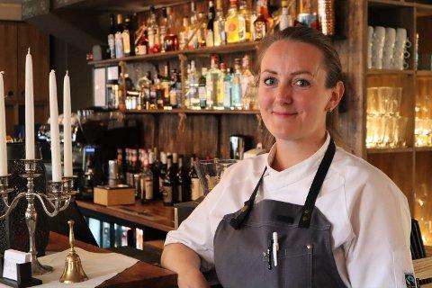 Linda Haugan (35) lot ikke sjansen gå fra seg og startet restaurant med indisk tema.
