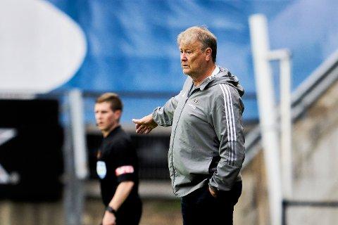 Åge Hareide var alt annet enn fornøyd etter Rosenborgs andre strake tap.