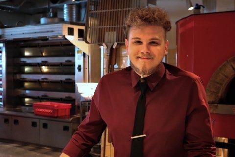Paolo Marafante (28) har startet et nytt kapittel i livet, som kokk på Frati.