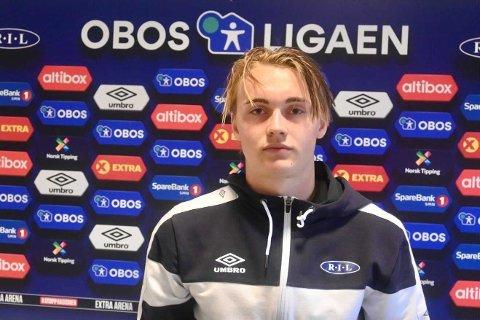 Elias Hoff Melkersen gav Ranheim 3-1, men det skulle ikke bli tre poeng mot Aalesund.