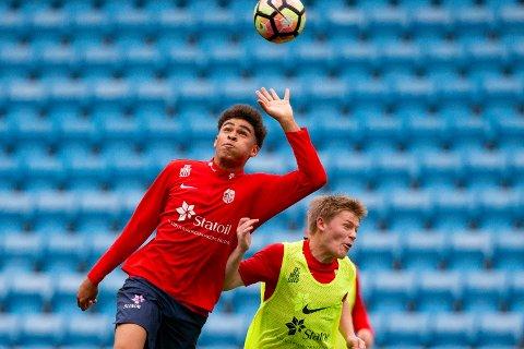 KLAR: Noah Jean Holm har signert for Rosenborg.