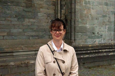 Martine Andersskog lar seg røre av både tekstene og musikken til Moddi.