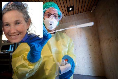 Siri Mauseths datter har hatt feber og vond hals. I tillegg er hun eksponert for smitte på skolen. Likevel må hun vente i en uke på å få testet seg hos kommunen.