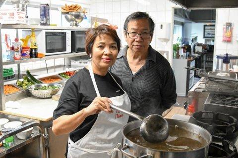 Tham Thi Nguyen og Quoc Huy Tran har åpnet restaurant igjen. Denne gangen flytter de ut av sentrum.