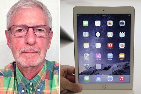 Nils Meland kjøpte seg en brukt iPad via Finn.no. Nettbrettet på bildet er en illustrasjon og ikke den omtalte iPaden.