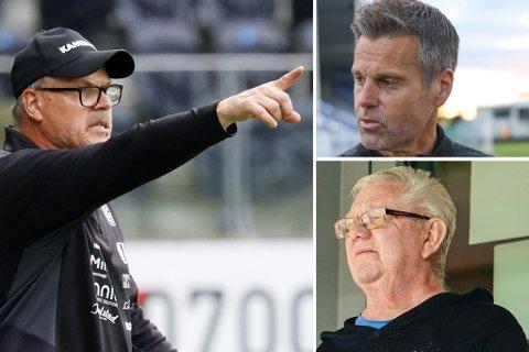 Kjetil Rekdal (t.v.) synes det blir feil å sammenligne Kjetil Knutsens og Nils Arne Eggens spillestil.