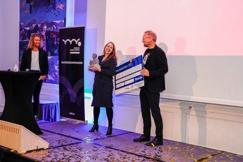 VANT: Trondheim Kammermusikkfestival vant prisen årets markedsfører under Markedskonferansen 2020 på Britannia Hotell.