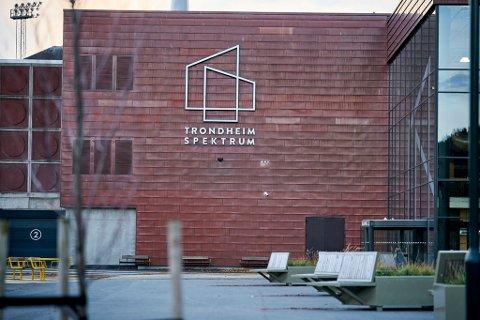 Ved Trondheim Spektrum kommer det et nytt stemmelokale. Foto: Ole Martin Wold / NTB