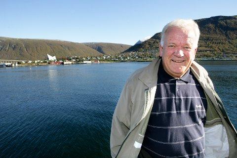 Erlend Rian var i en årrekke en populær ordfører i Tromsø.  Bildet er tatt i 2006.