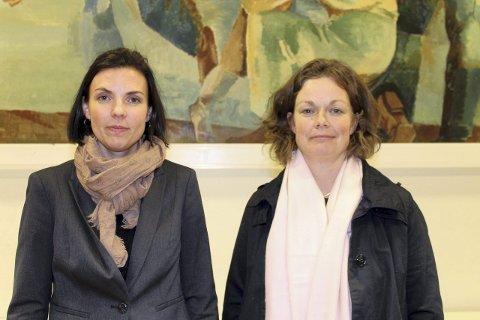 MISFORNØYDE: Hilde Haraldseid-Lund og Mari Bjørseth er verken fornøyde med forslaget eller svarene fra Utdanningsetaten.