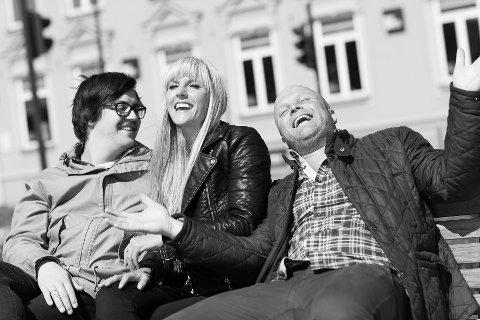 Martin Halla, Maria Arredondo og Torstein Sødal søker sangtalent fra Nordstrand til duett med Arredondo i Nordstrand kirke 26. november.