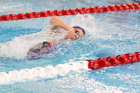 PERSET: Malene Pedersen perset på 200 m fri med tiden 2,05,13.