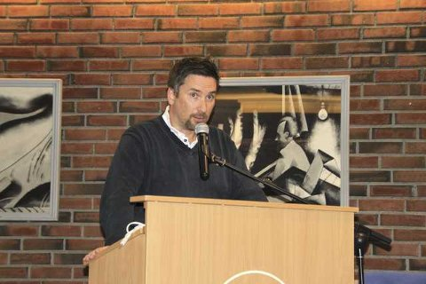 MOBILISERER: Tommy Nysveen, talsperson for aksjonen Bevar nærskolen Østensjø.