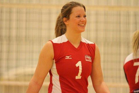 FORNØYD: Kaptein Mari Bergum Berget var fornøyd med 3-0 mot Sortland.