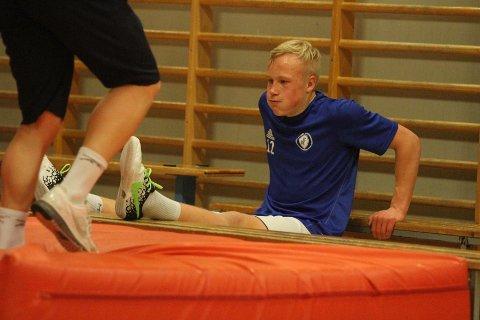 TØFFE TAK: Julian trener hardt om dagen, og tøffere blir det når karrieren i RBK starter.