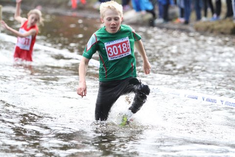 I TETEN: Ask Olaussen fra Rustad var blant de første som løp ut i Sognsvann.