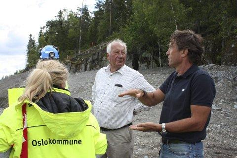 Østlandets Blad - Follobanen kan forsinke skytebanen på Åsland