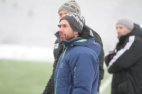 FORNØYD: Trener Ståle Andersen var godt fornøyd med førsteomgangen mot Moss.