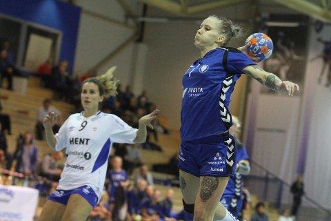 UREDD: June Bøttger scoret 5 mål på 13 skudd mot Byåsen.