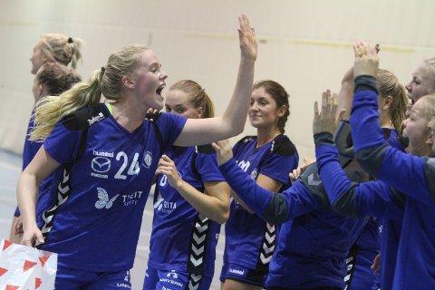 """BEST: Utrolig kult å se """"nye"""" Marte Røkke tilbake i Oppsal. Best og toppscorer med 8 mål."""