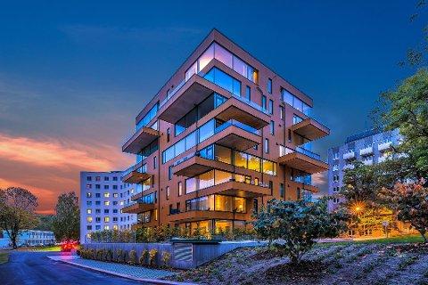 PRISVINNER: Ullevål Tårn vant Oslo bys arkitekturpris 2016.