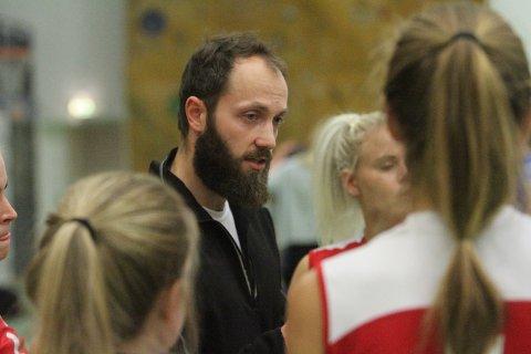 NY SJEF: Polske Michal Placek er ny mann i sjefsstolen til Oslo Volley.