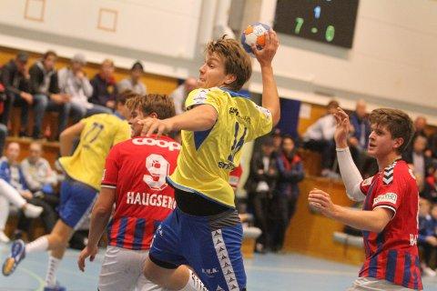TREFFSIKKER: Strekspiller Aksel André Strupstad scoret seks mål mot Nærbø.