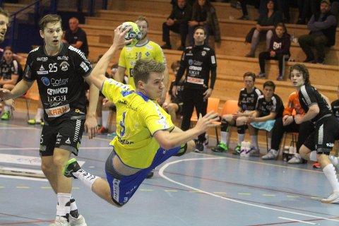 GOD KANT: Emil Richardsen Nedregård scoret på fire av seks mot St. Hallvard.