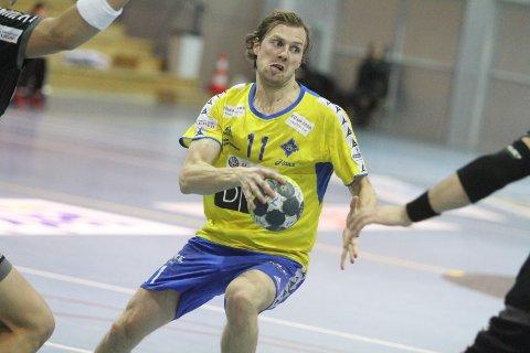 BRA: Nicolay Hauge scoret på seks av åtte skudd mot St. Hallvard.