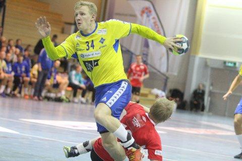 NY SEIER: Kevin Maagerø Gulliksen og BSK slo Lillestrøm 28-23.