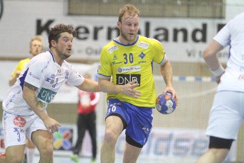 HOLDT IKKE: Joakim Patriksson og BSK surret det til mot slutten, og tapte for Kolstad.